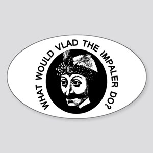Vlad Oval Sticker